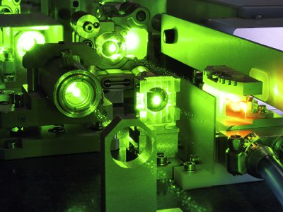 scientific research with ultrafast laser